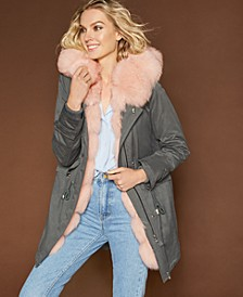 Parka with Fur Lined Hood