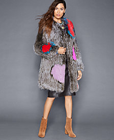 The Fur Vault Knitted Fox Fur Coat