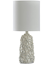 StyleCraft Starfish Motif Mini Table Lamp