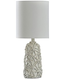 StyleCraft Starfish Motif Mini Table Lamp