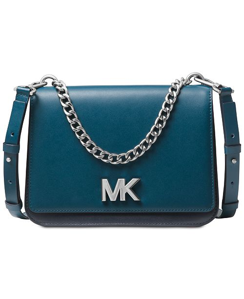 fd7aa9058c1d Michael Kors Mott Colorblock Chain Swag Crossbody & Reviews ...