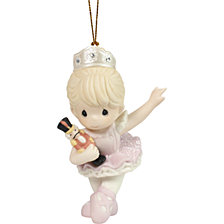 Behold The Magic of Christmas Nutcracker Ballerina Ornament