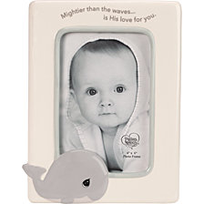 Mighter Than The Waves Whale 4 x 6 Photo Frame