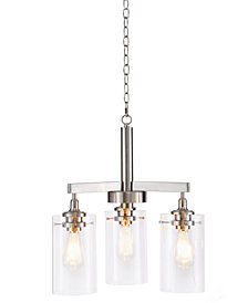 Madison Park Signature Halsey Three Shade Chandelier