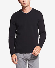 DKNY Men's V-Neck Sweater