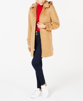 Petite Hooded Coat
