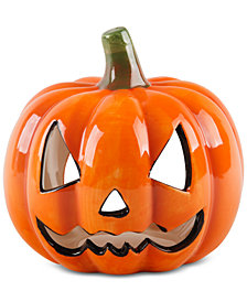 CLOSEOUT! Home Essentials Ceramic Pumpkin
