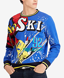Polo Ralph Lauren Men's Downhill Skier Double-Knit Sweatshirt