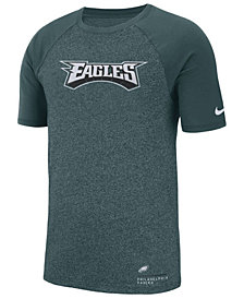 Nike Men's Philadelphia Eagles Marled Raglan T-Shirt
