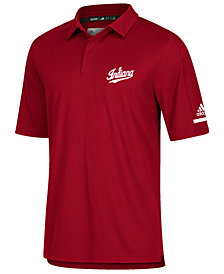 adidas Men's Indiana Hoosiers Team Iconic Coaches Polo