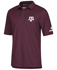 adidas Men's Texas A&M Aggies Team Iconic Coaches Polo