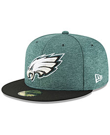 New Era Boys' Philadelphia Eagles On Field Sideline Home 59FIFTY Fitted Cap