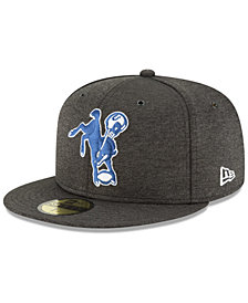 New Era Boys' Indianapolis Colts On Field Sideline Home 59FIFTY Fitted Cap