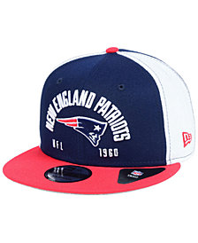New Era New England Patriots Establisher 9FIFTY Snapback Cap