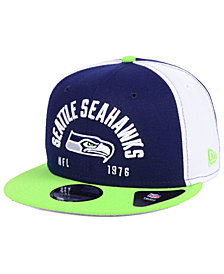 New Era Seattle Seahawks Establisher 9FIFTY Snapback Cap