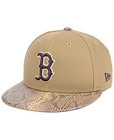 New Era Boston Red Sox Snakeskin Sleek 59FIFTY FITTED Cap