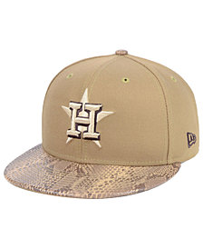 New Era Houston Astros Snakeskin Sleek 59FIFTY FITTED Cap