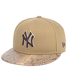 New Era New York Yankees Snakeskin Sleek 59FIFTY FITTED Cap