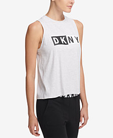 DKNY Sport Logo Tank Top, Created for Macy's