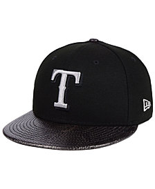New Era Texas Rangers Snakeskin Sleek 59FIFTY FITTED Cap