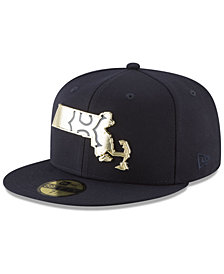 New Era Boston Red Sox Gold Stated 59FIFTY FITTED Cap