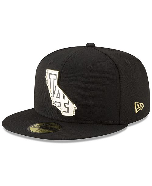 New Era. Los Angeles Dodgers Gold Stated 59FIFTY FITTED Cap. Be the first  to Write a Review. main image  main image ... f261883343