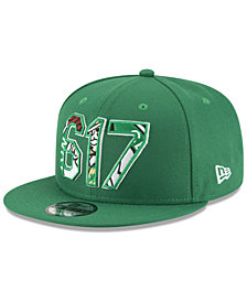 New Era Boston Celtics Area Code 9FIFTY Snapback Cap