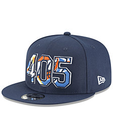 New Era Oklahoma City Thunder Area Code 9FIFTY Snapback Cap