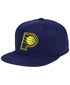 Mitchell & Ness Indiana Pacers Zig Zag Snapback Cap