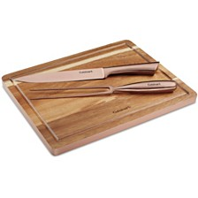Cuisinart 3-Pc. Rose Gold Carving Set