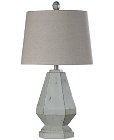 StyleCraft Basilica Sky Table Lamp