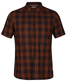Hurley Men's Bison Plaid Shirt