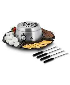 2-in-1 S'mores Maker and Chocolate Melter