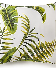 "Tropic Bay Square Cushion- Tropic Pattern 18""x18"""