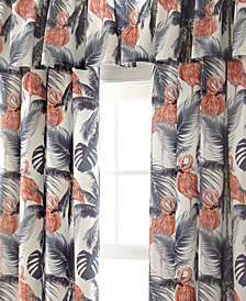 Flamingo Palms Tailored Valance