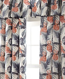 Flamingo Palms Tailored Valance