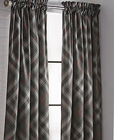 Max Plaid Drapery Panel - Each