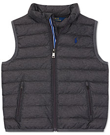Polo Ralph Lauren Toddler Boys Quilted Down Vest
