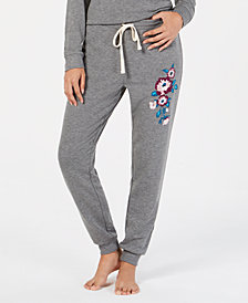 I.N.C. Embroidered Pajama Jogger Pants, Created for Macy's