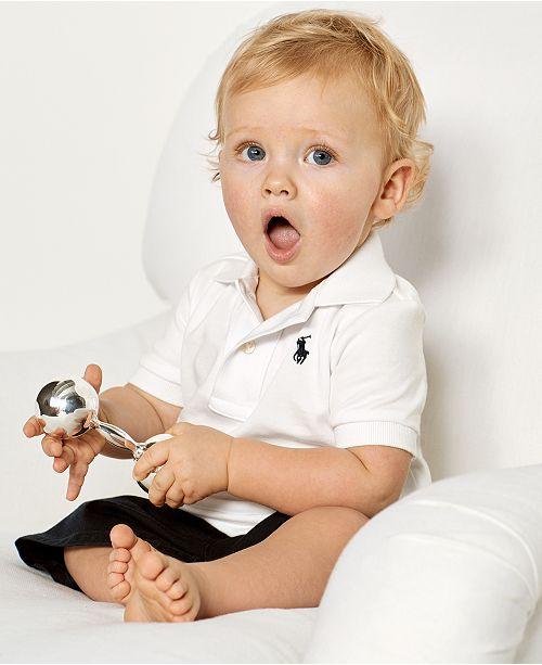 1ae39202 Ralph Lauren Baby Boys Cotton Polo
