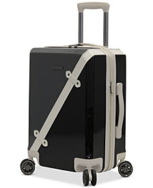 "BCBG MAXAZARIA Luxe 20"" Hardside Carry-On Spinner Suitcase"