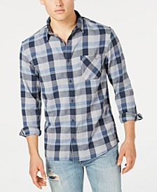 Men's Basic Fly Flannel Shirt