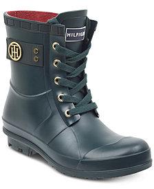 Tommy Hilfiger Trineti Lace-Up Rain Boots