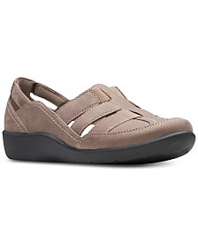 Clarks Collection Women's Cloudsteppers Sillian Stork Flats