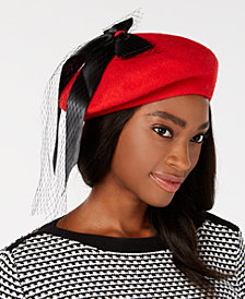 Betsey Johnson Trust Fund Bow Beret