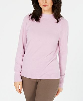 Karen Scott Luxsoft Mock Neck Sweater Created For Macys Sweaters