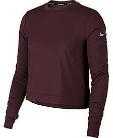 Nike Miler Long-Sleeve Running Top