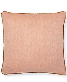"Lauren Ralph Lauren Hadley Rustic 20"" Square Decorative Pillow"