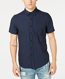 American Rag Men's Checked Shirt, Created for Macy's