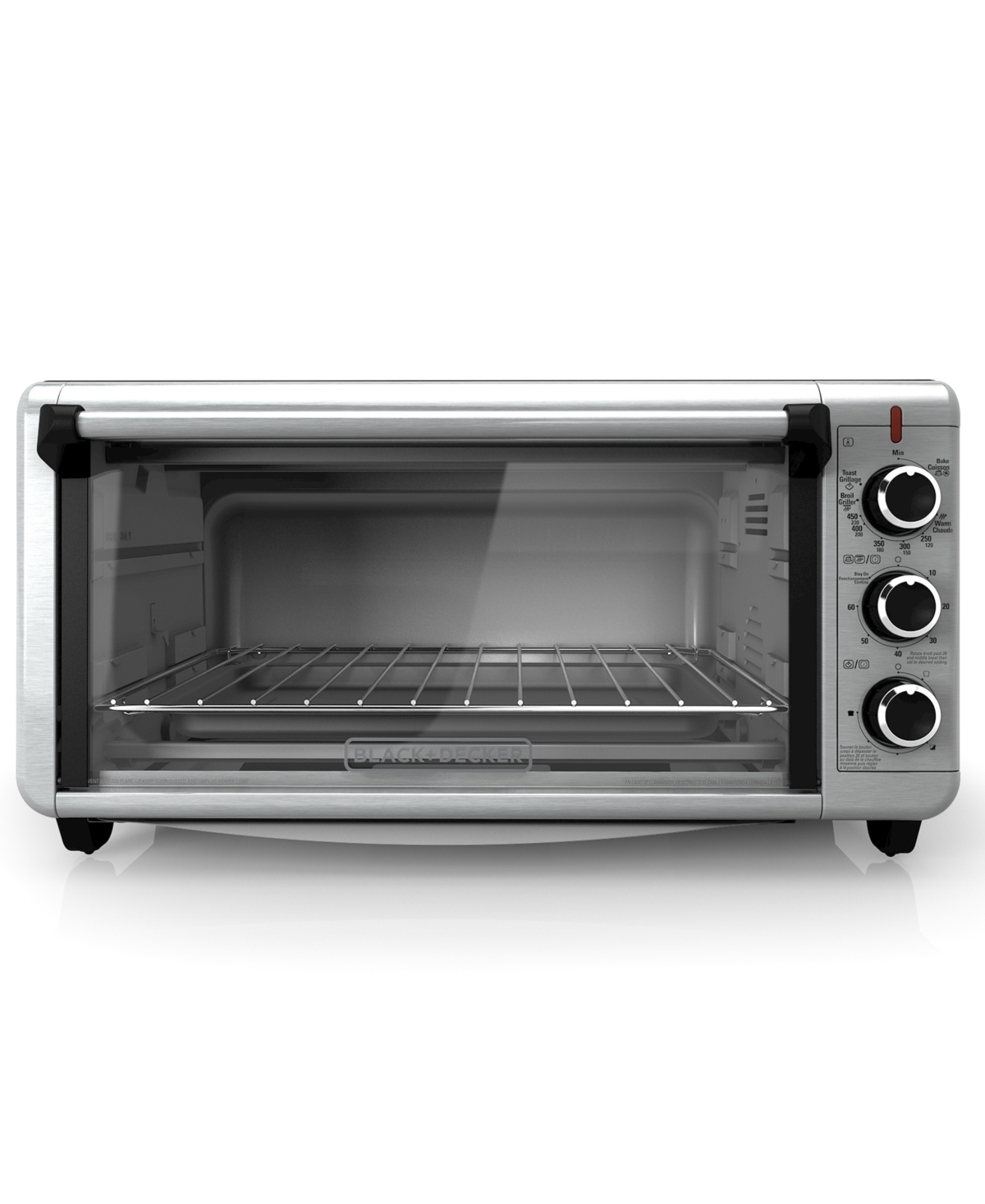 Black & Decker 8-Slice Extra-Wide Convection Toaster Oven